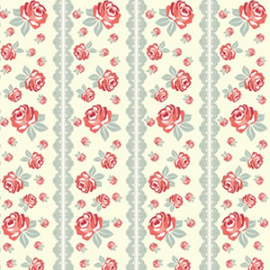 PAPEL CONTACT DECORADO ROSAS ROLO 45CM X 10 METROS