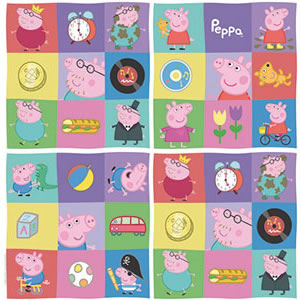 PAPEL CONTACT ANIMADO PEPPA E KIDS ROLO 45CM X 10 METROS